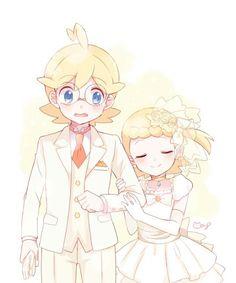 Bonnie and Clemont (Okay..........RIIIIIIIIIIIIIIIIIIII...)