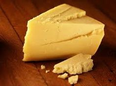 Mature English Cheddar Cheese -- tastes far better than any cheddar I've found in America