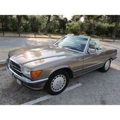 My 1987 Mercedes-Benz R107 in original and pristine condition! Aka 'Lady Grace'.