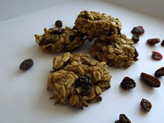 Healthy Oatmeal Cookies  - No eggs, No sugar  http://dreamyfoodie.blogspot.ca/2014/11/healthy-oatmeal-cookies-egg-free-sugar.html