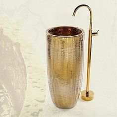 Bathtub Tap - Antique - Floor Standing - Brass (Ti-PVD)
