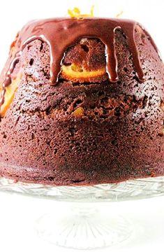 Chocolate-orange steamed pudding -- Low FODMAP Recipe and Gluten Free Recipe #lowfodmaprecipe #glutenfreerecipe #lowfodmap #glutenfree http://www.ibs-health.com/low_fodmap_chocolate_orange_steamed_pudding1211.html