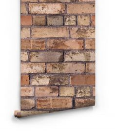 Old Brown Bricks Wallpaper Roll Small