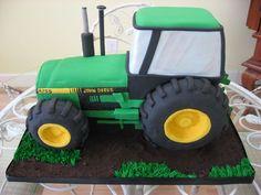John Deere Groom's Cake from Savannah Custom Cakes Birthday Cakes For Men, Tractor Birthday Cakes, Tractor Cakes, Cake Birthday, Red Tractor, Birthday Ideas, Fancy Cakes, Cute Cakes, Fondant Cakes
