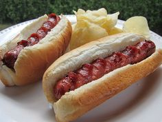 Grilled hot dogs, corn dogs, bacon crescent dogs and chili dogs