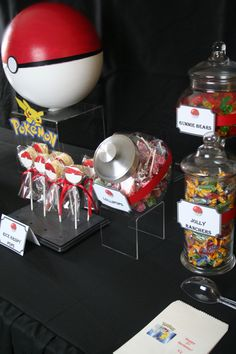 Candy Buffet Pokemon Party Pokemon Candy Candy Buffet