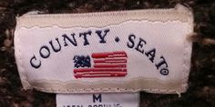 County Seat County Seat, Clothing Tags