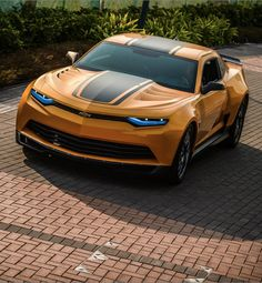 WOW! Check out the new 'Bumblebee' Camaro in the #Transformers4 Age of Extinction trailer' Click to watch!