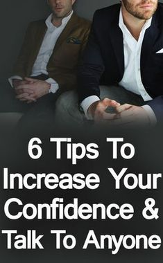 six actionable tips that you can use to build your confidence and begin approaching people to have successful conversations.