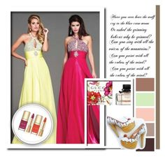 """""""Halter Prom Dresses With Beaded"""" by johnnymuller ❤ liked on Polyvore featuring Dolce&Gabbana"""