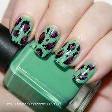 green animal print