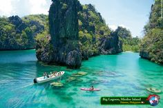 Big Lagoon, Miniloc Island (Palawan, Philippines)