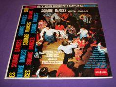 """Robert Treyz & Acton Promenaders / Square Dances With Calls / 12"""" Vinyl LP Record / SpinORama 3037 Rare Album"""
