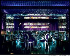 Purple Bar at the Sanderson in London one of my favorite boutique hotels thank you Morgans Hotel Group