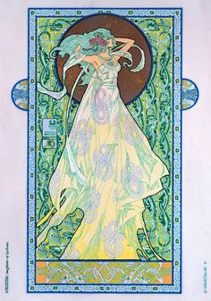 "Celtic Fantasy Art | Irish Fantasy art Goddess 8x11"".Celtic, Irish, Ireland, Fine Art Print ..."