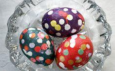 Speckled Confetti Eggs