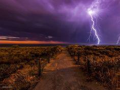 Lightning storm over South Australia by Michael Waterhouse #lightning #storm
