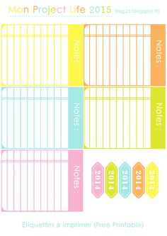 Free Journal Cards for Project Life