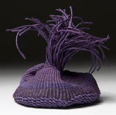 Charlotte Thorp | Bijoux.  hand-spun paper spokes,   waxed linen thread
