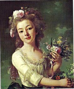 Henriette Begouen (1790) by Alexander Roslin [NeoClassicism]