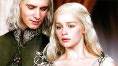 Game of Thrones:  Viserys Targaryen and Daenerys Targaryen