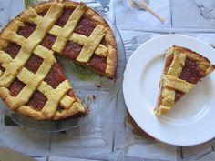 Greckie smaki: Pasta flora, tradycyjna tarta z dżemem