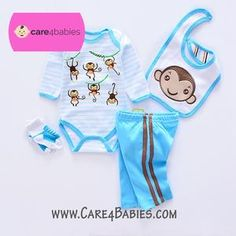 $17.50 Infant Baby Boy Monkey Blue Rompers Trousers Socks BibTo Buy PM Us or Visit Us At https://www.care4babies.com/products/infant-baby-boy-monkey-blue-rompers-trousers-socks-bib#infantbabyboymonkeyblueromperstrouserssocksbib #clothingboys #babyboyclothing #cuteinfantboyclothes #newbornboyclothes