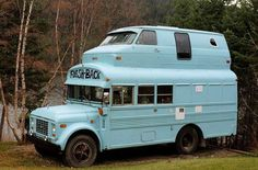 hahaha, Emily Schoenfeld Schoenfeld Shannon I'm sure you know who to show this to! how to remodel a Truck Camper Truck Camper, Camper Trailers, Camper Van, Motorhome, Converted Bus, Rv Bus, Bus Living, Bus House, Tiny House
