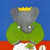 Babar Reading by Laurent de Brunhoff ($9)