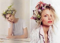 This is more extreme but they sell the flower crowns in Istanbul also, so cute and dainty!    flowercrown5