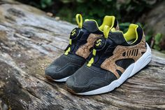 "PUMA MMQ 2014 Spring Leather Disc Cage ""Cork"" Pack"