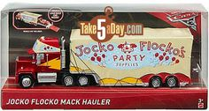Mattel Disney Pixar CARS 3: Jocko Flocko Mack Arrives