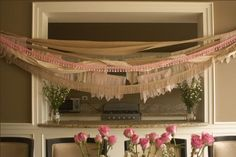 Fringe Baby Shower event by Pera Chapita via www.babyshowerideas4u.com #babyshowerideas4u