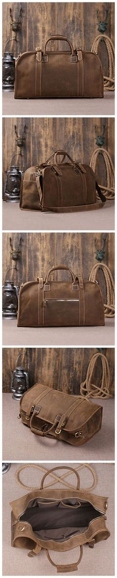 Genuine Cow Leather Briefcase, Backpack, Messenger Bag, Laptop Bag, Handbag