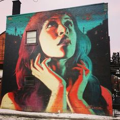 Montreal street art #graffiti