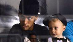 Neymar and his son Football Soccer, Football Players, Neymar Jr, Best Player, The Magicians, Hulk, Fifa, World Cup, Riding Helmets