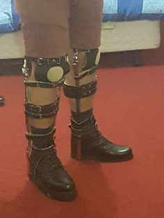 T Strap, Disability, Braces, Riding Boots, Legs, How To Wear, Shoes, Fashion, Horse Riding Boots