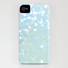 Glitter Blue mermaid iPhone case