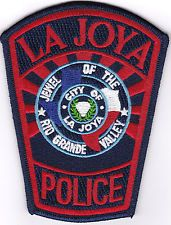 La Joya Police Patch Texas