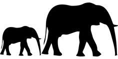 Elephant Animal Silhouette transparent image