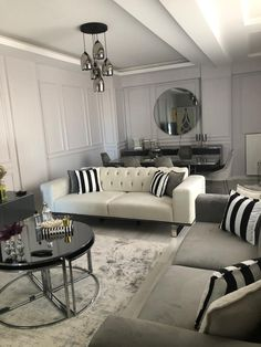 Beige Living Rooms, Living Room Interior, Home Living Room, Home Room Design, Home Design Decor, Interior Design, Home Decor, Simple Living Room, Luxury Furniture