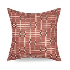 Framework: Terracotta — Brook Perdigon Textiles Black Accents, Toss Pillows, Terracotta, Light In The Dark, Textiles, Pattern, Fabric, Prints, Store
