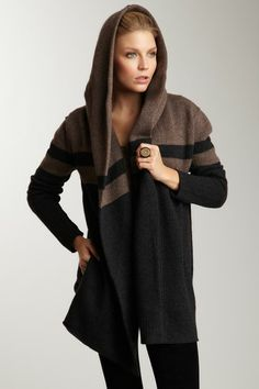 Vince - Blanket Coat - I LOVE this. Perfect sweater. #Cozy #Fashion