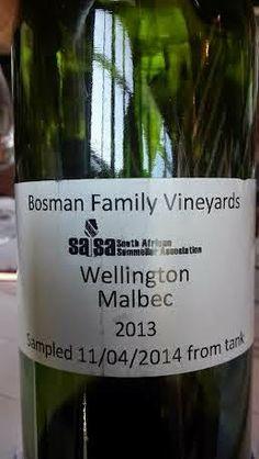 Miguel Chan: Bosman Family Vineyards Wellington Malbec 2013 80 ...