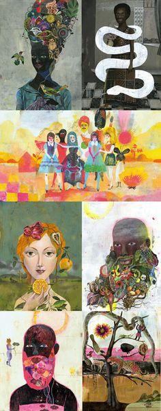 The Prints of Olaf Hajek