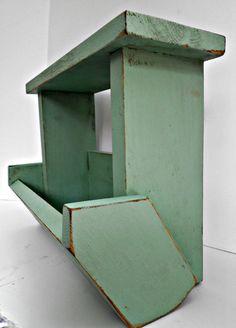 Bin for Veggies / Fruits Kitchen Storage by RobsRusticCreations