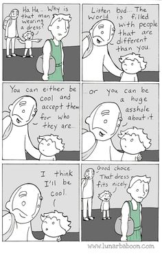 Dad's Sweet Comics Promote Empathy, Tolerance And Love | HuffPost