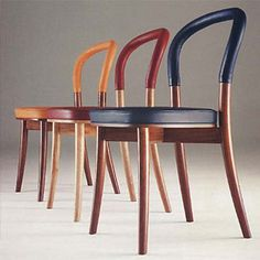 Erik Gunnar Asplund Goteborg Chair   Interesting way to add colour Plus keep the wood look