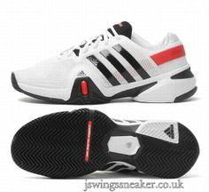 huge selection of fa41e 7a5cb jswingssneaker.co.ukmens-cheap-adidas-adipower-barricade-8-tennis-sneakers-white-black-p-3.html  Adidas Adipower Barricade 8 Tennis Sneakers White Black