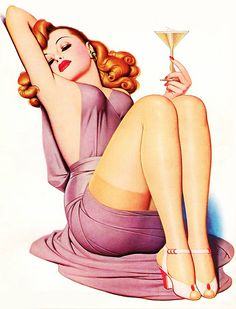 Illustration by Enoch Bolles for the cover of Film Fun Magazine, Nov. 1941